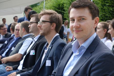 Jochen Kleboth beim Fast Forward Award